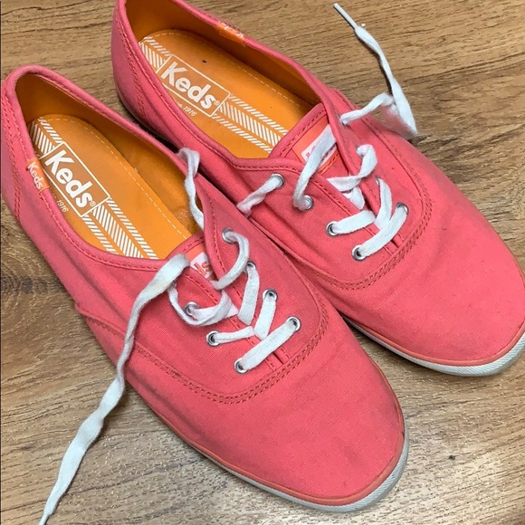 Keds coral sneakers